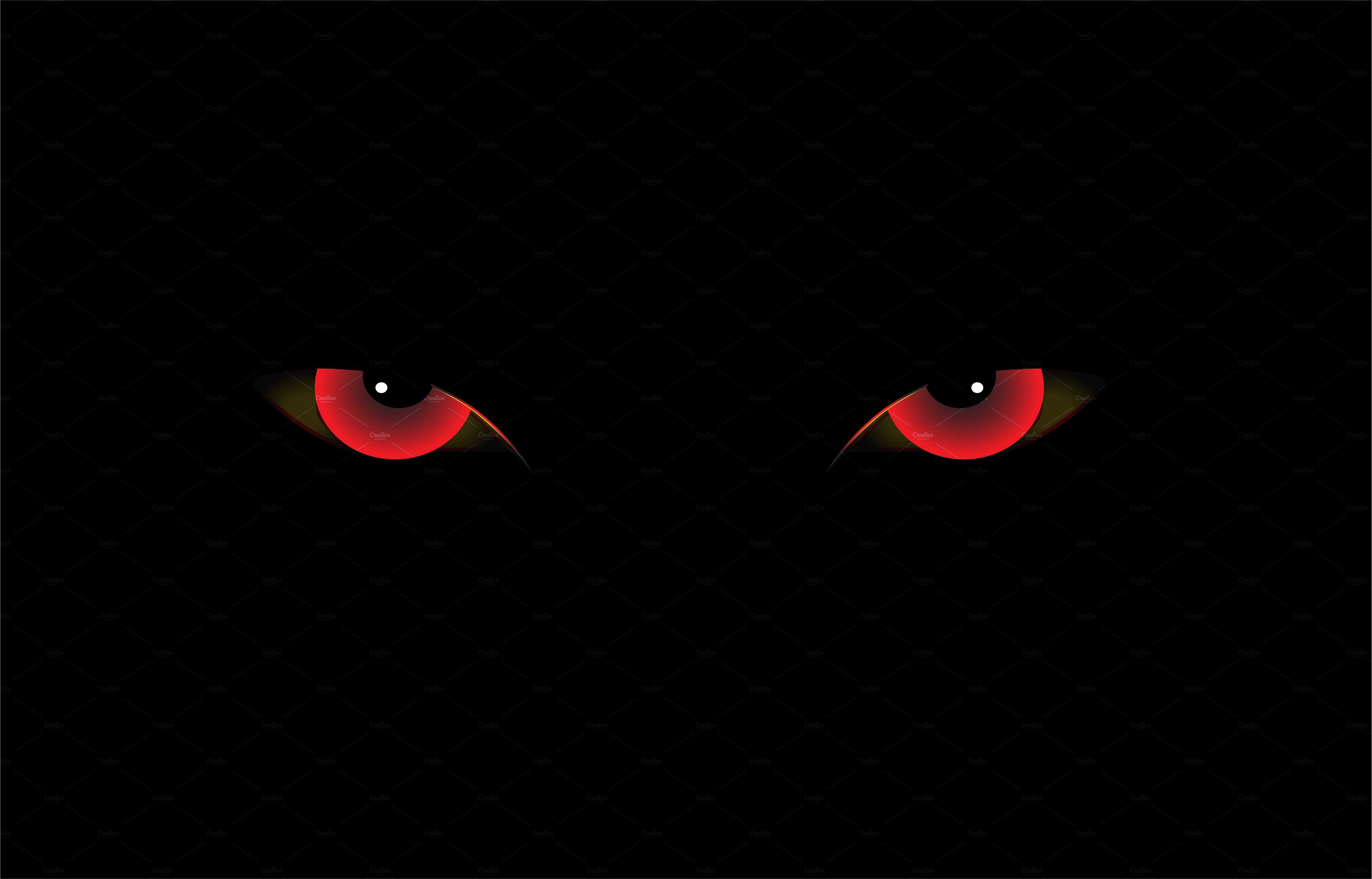 Demon Eyes Red Vector Demon Eyes Eyes Wallpaper Scary Eyes