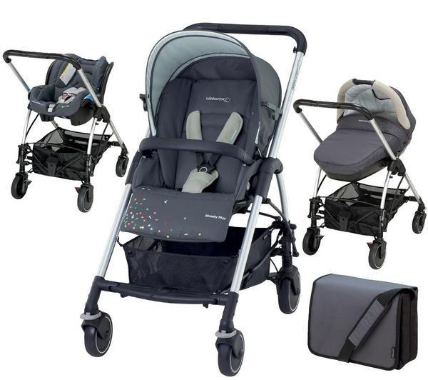 bebe confort pack trio streety plus confetti petites. Black Bedroom Furniture Sets. Home Design Ideas