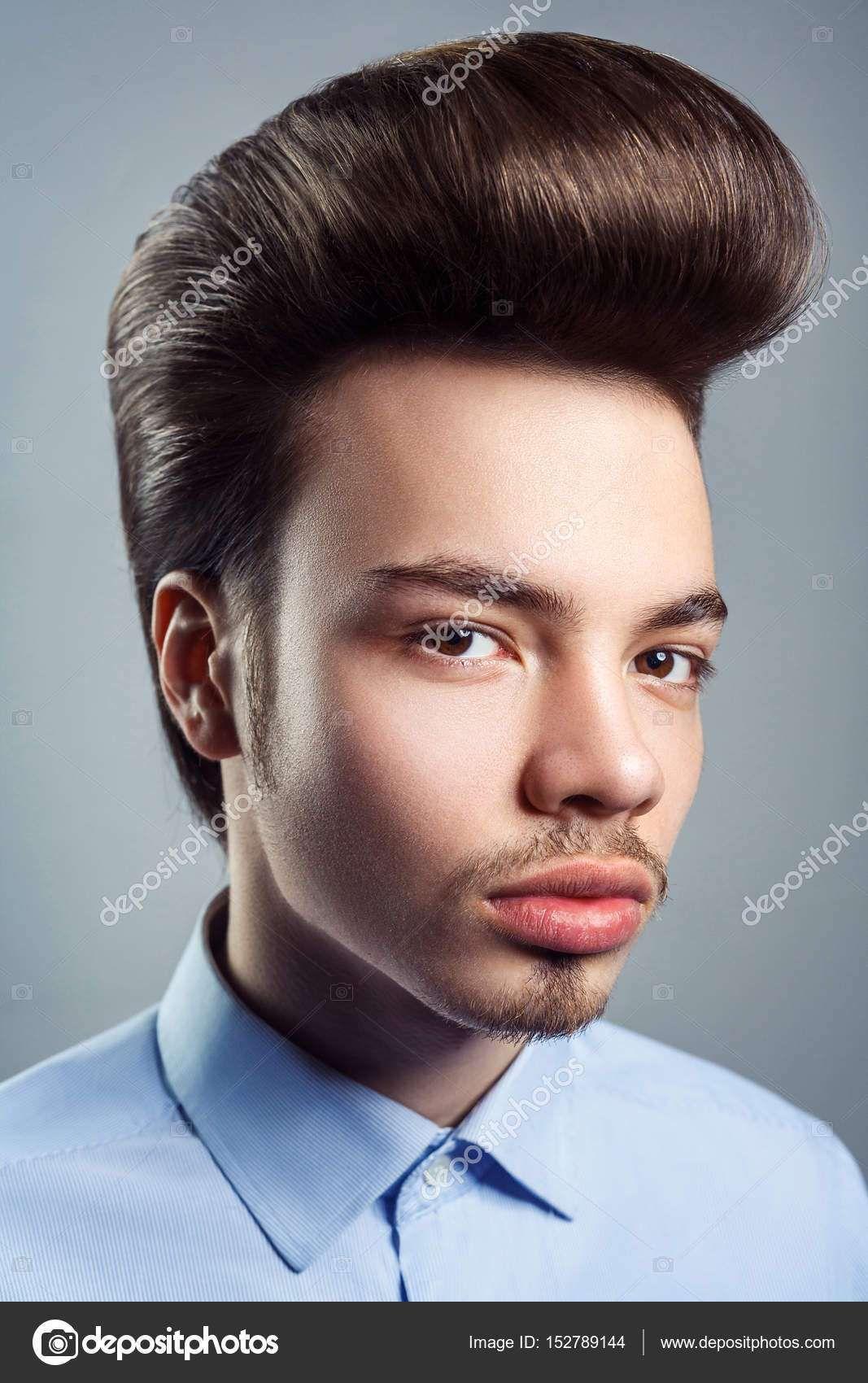 classic pompadour men elvis presley | pompadour hairstyles