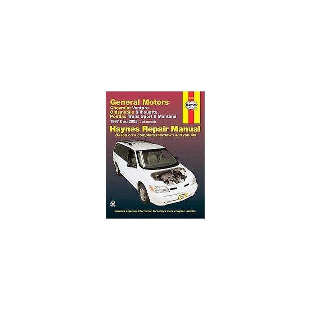 chevrolet venture oldsmobile silhouette haynes automotive repair rh pinterest com Haynes Repair Manual 1991 Honda Civic Haynes Repair Manuals Mazda
