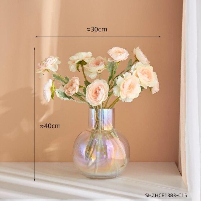 Photo of Transparent Color Vase Round Nordic – O