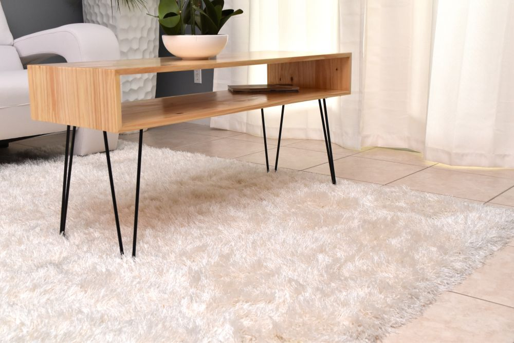 How To Make A Coffee Table With Hairpin Legs Stylish Coffee