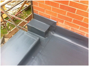 We can replace old lead copper patina and metal roofs for Balcony upstand
