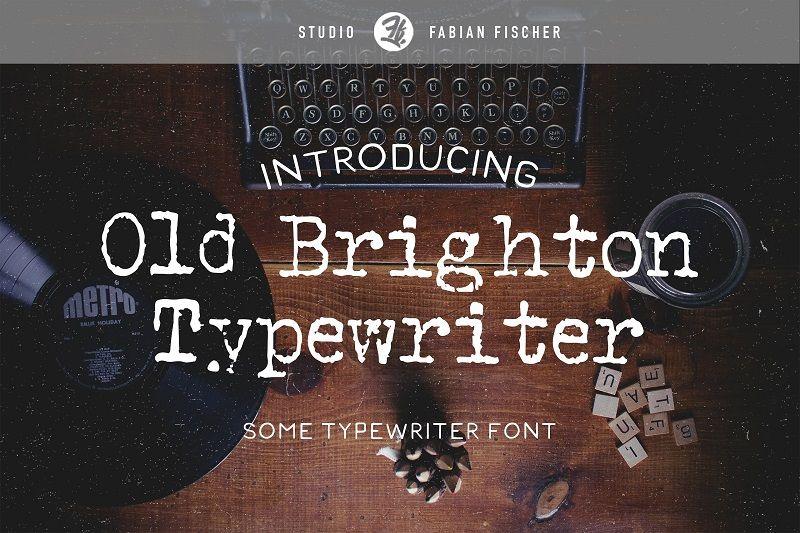 typewriter typography, typewriter designs, typewriter fonts