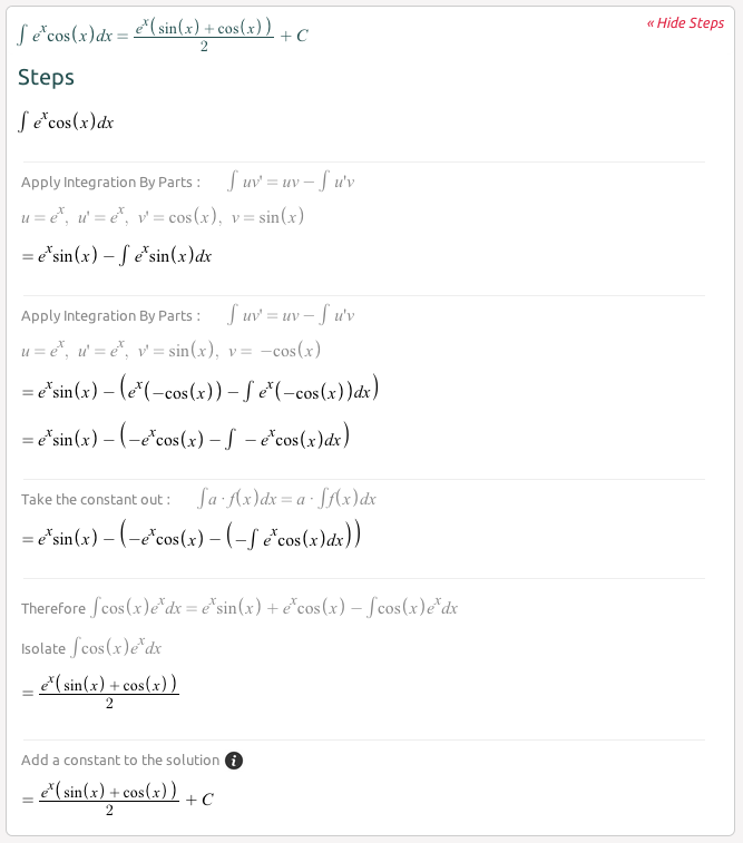Symbolab: equation search and math solver - solves algebra ...