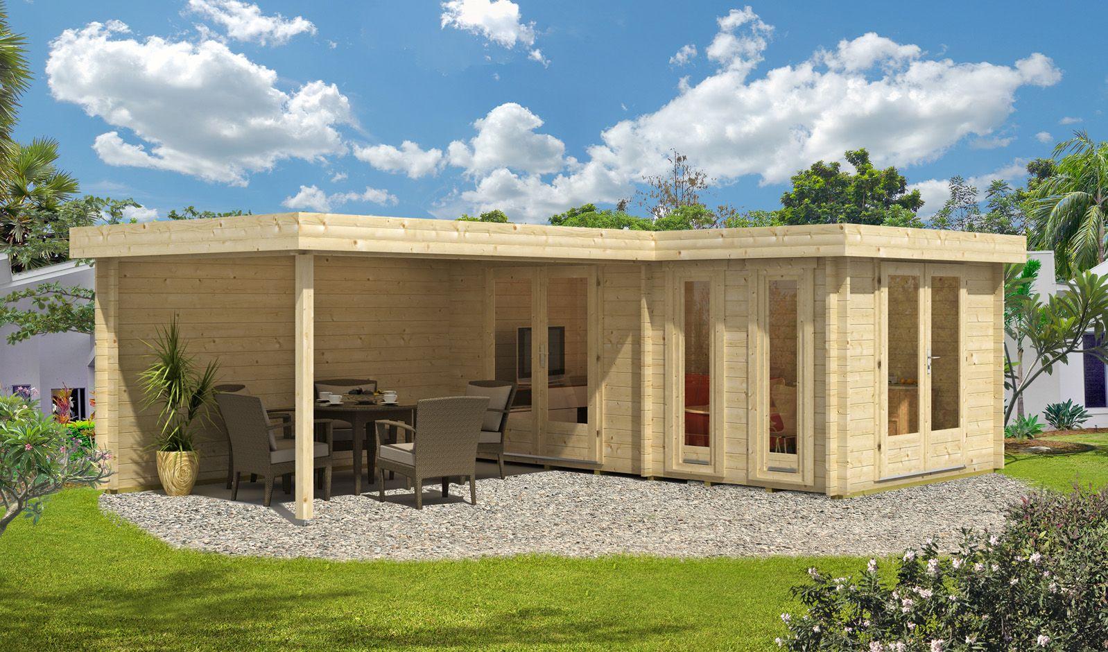 gedmmtes gartenhaus affordable mit fundament with. Black Bedroom Furniture Sets. Home Design Ideas