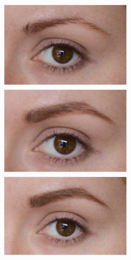 Eyebrow Tutorial And Great Products For Red Heads Makeup
