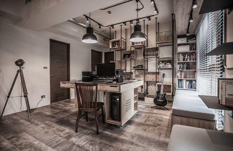 Pc House Industrial Interior Design By Formo Design Studio