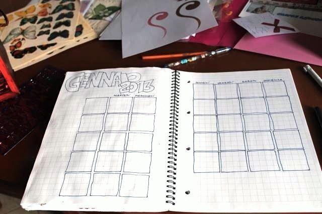 Calendar Art Journal : Calendar journal pages template and journaling