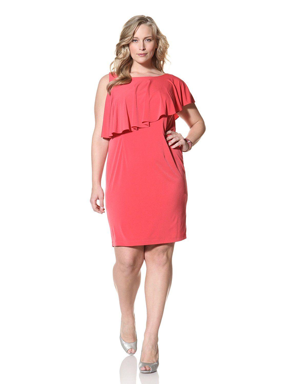 efcaf0457e1 Suzi Chin Women s Plus Sleeveless Fly Away Sheath Dress    Don t get left  behind
