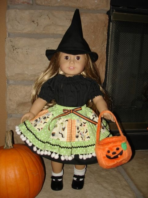 """Hocus Pocus Halloween """"eBooklet"""" Sewing Pattern   Dolls & Clothing Sewing Patterns for Download   YouCanMakeThis.com"""