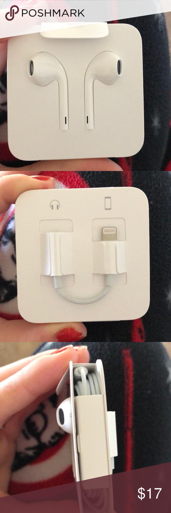 Apple Headphones With Dongle Apple Headphone Headphones Apple