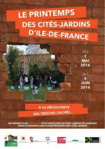 « Printemps des cités-jardins d'Ile-de-France 2016 » du 1er mai au 5 juin 2016, Seine-Saint-Denis Tourisme http://www.pariscotejardin.fr/2016/05/printemps-des-cites-jardins-dile-de-france-2016-du-1er-mai-au-5-juin-2016/
