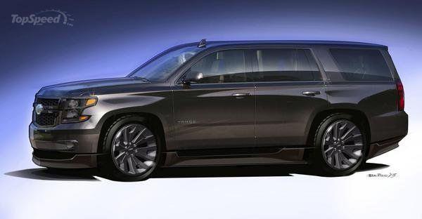 2015 Chevrolet Tahoe Black Concept Vehicles Chevrolet