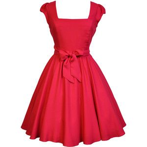 LADY VINTAGE SWING DRESS in 19 DIFFERENT PRINTS *50s ROCKABILLY ...