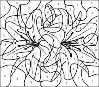 coloring pages for teenagers difficult color by number - Google Search