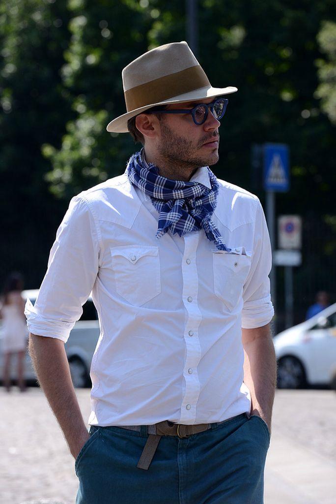 nueva colección mejor coleccion comprar oficial Con pañuelo en el cuello en 2019 | Sombreros masculinos ...