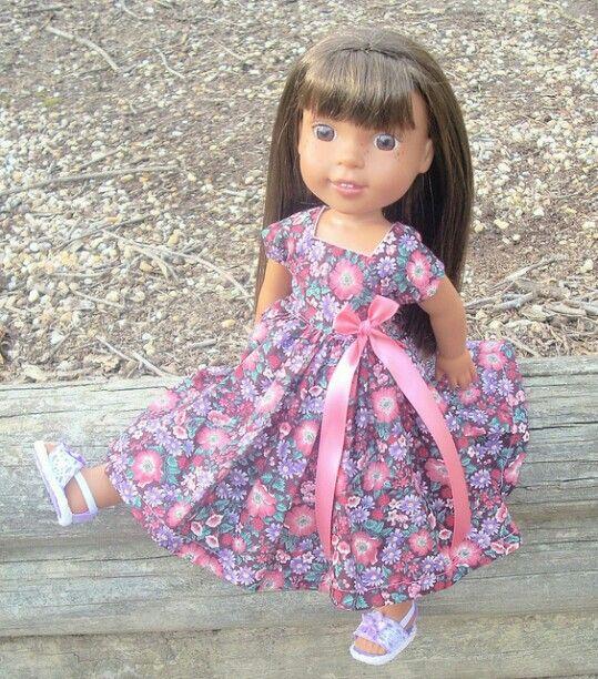 Pin von Laura auf Wellie Wishers Dolls -American Girl | Pinterest