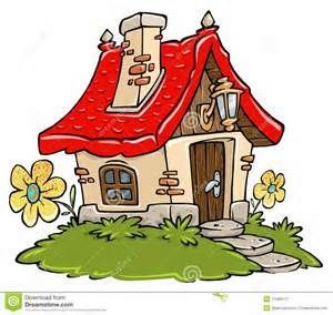 Old Cottage House Clipart