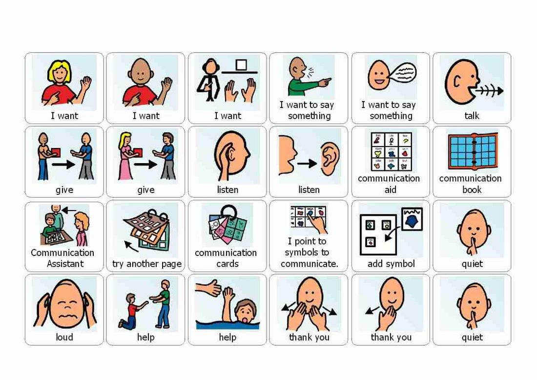 Visual Cue Cards For Use With Autistic Children Printable