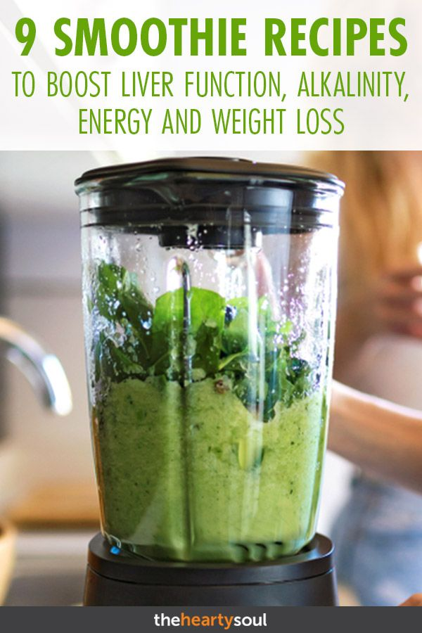 9 Cleansing Smoothie Recipes to Boost Liver Functi