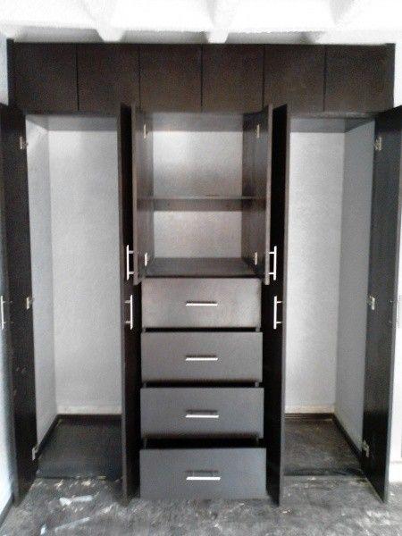 Closets | Muebles | Pinterest | Puertas batientes, Armario y Clóset