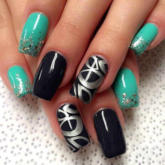 Nail Art Nails Square Nail Designs Stamping Nail Art