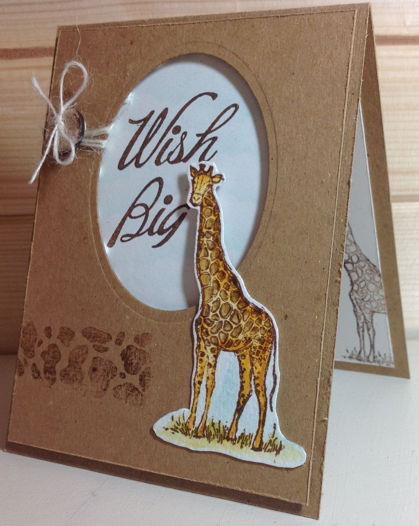 Stampin Up Zoo Review Themed cards