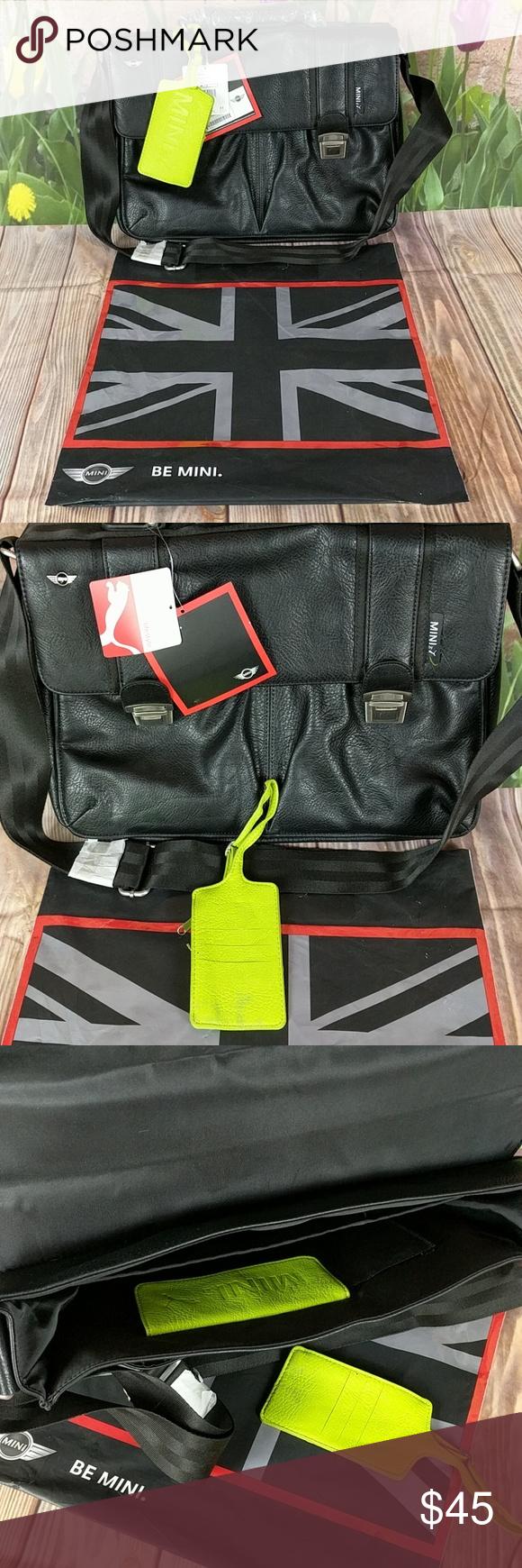 be405fa90e NWT Mini Cooper Holdall Laptop Bag + Wallet Puma Mini Cooper by Puma work  bag