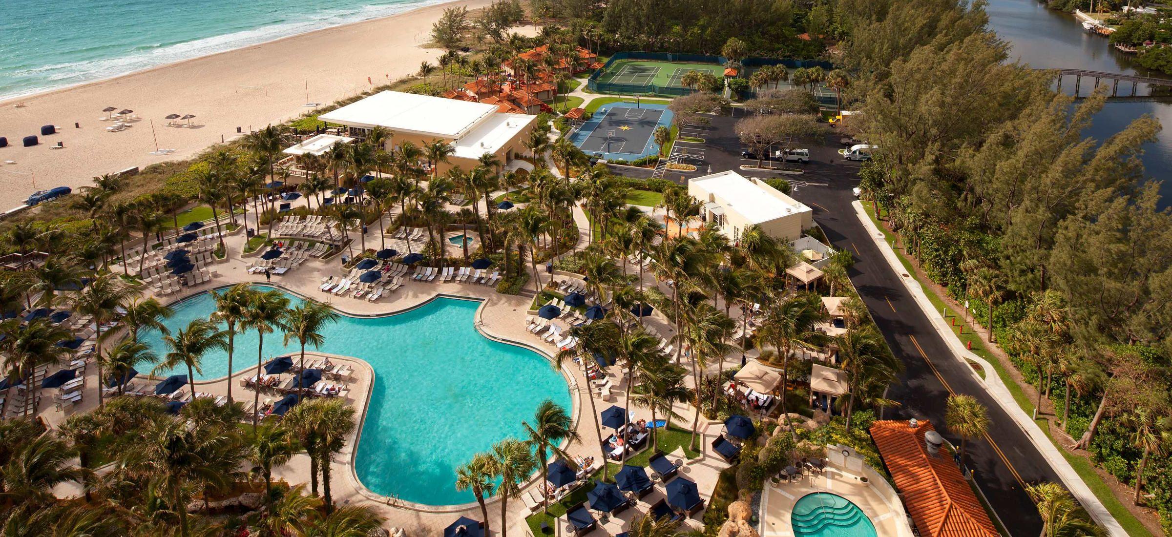 The Fort Lauderdale Marriott Harbor Beach Resort Spa Features