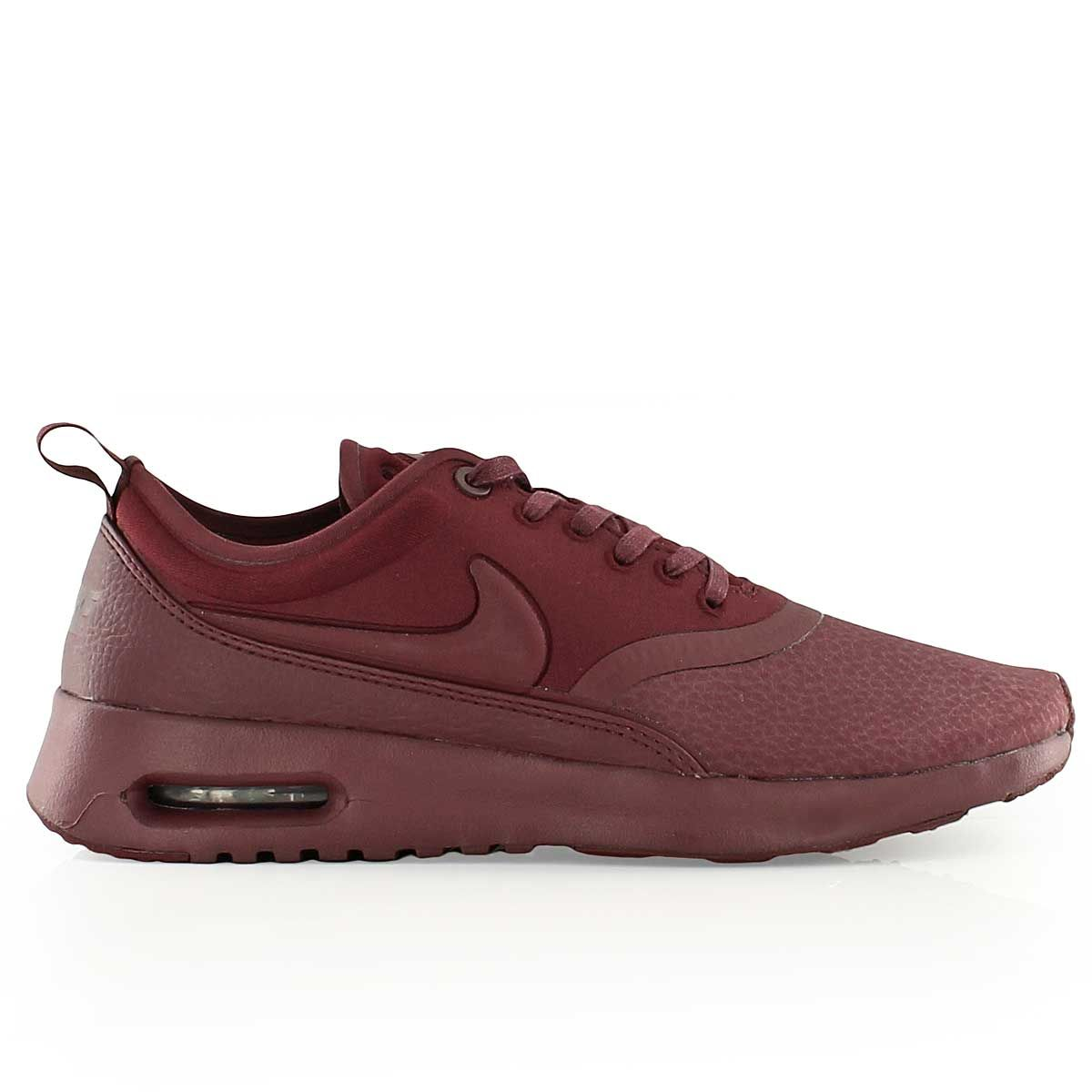nike W NIKE AIR MAX THEA ULTRA PRM NIGHT MAROONNIGHT MAROON