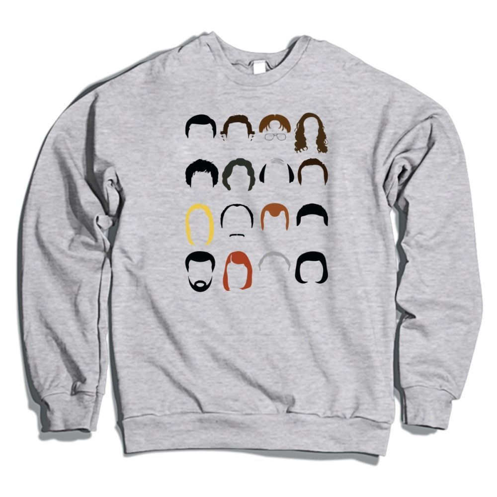 ce5dc02b The Office Dunder Mifflin Paper Company Crewneck Sweatshirt   Wish ...
