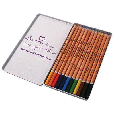 Derwent Academy 12 Piece Watercolor Pencil Set