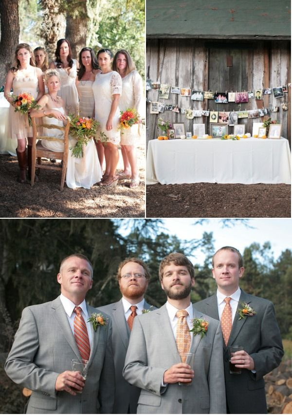 Pie Ranch Wedding By Ashley Forrette Photography Coastside Couture California Wedding Wedding Neutral Bridesmaid Dresses