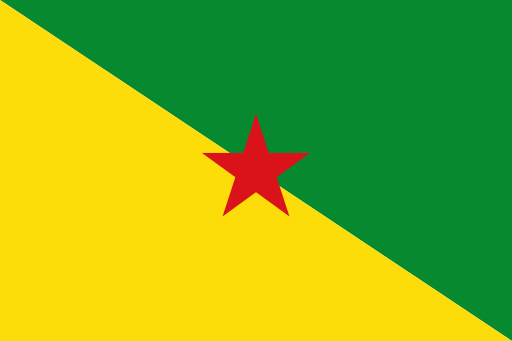 Guyane Flags Of The World French Guiana Geography Quiz