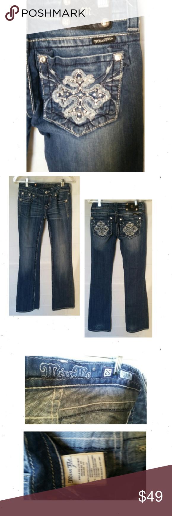 "Miss Me Low Rise Boot Cut Miss Me Boot Cut Low Rise Jeans. Size 27. ID JY53938  L40"" R7"" I33"" EUC (MM2) Miss Me Jeans Boot Cut"