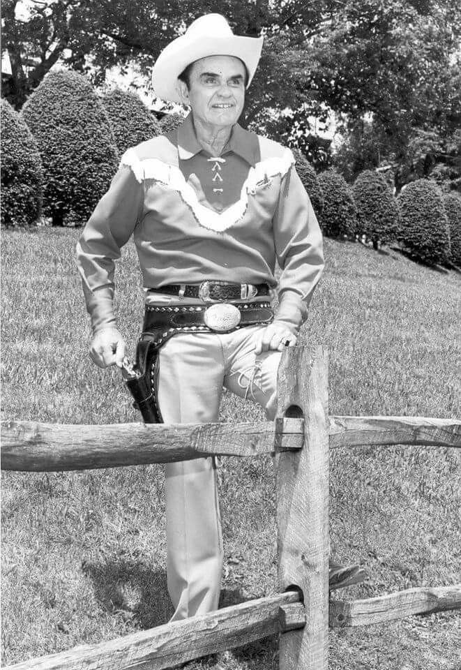 Fred Kirby was a singing cowboy on WBTV in Charlotte for