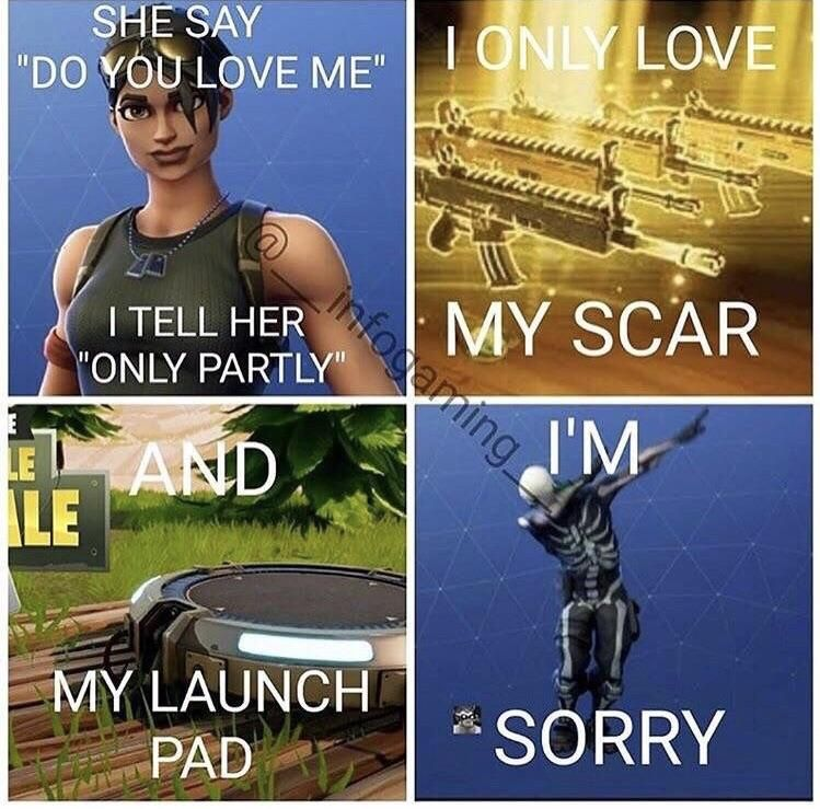 Playing Fortnite Be Like Funny Gaming Memes Gaming Memes Funny Games