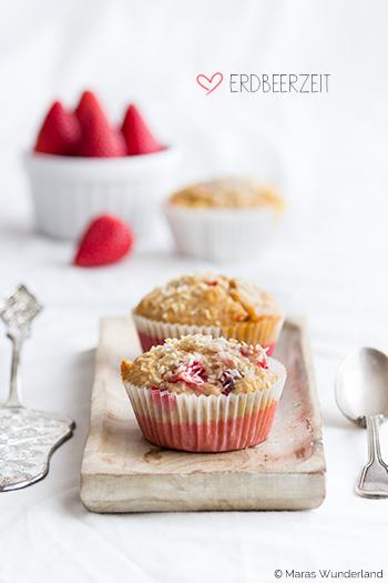Erdbeer-Kokos-Muffins