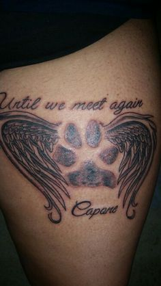 Image Result For Dog Memorial Tattoos Quotes Dog Tattoos Dog Memorial Tattoos Puppy Tattoo