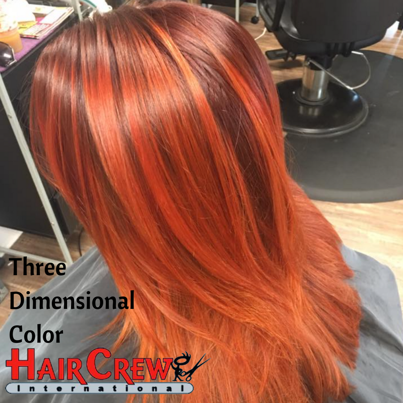 At Hair Crew Our Color Technicians Specialize In Three Dimensional