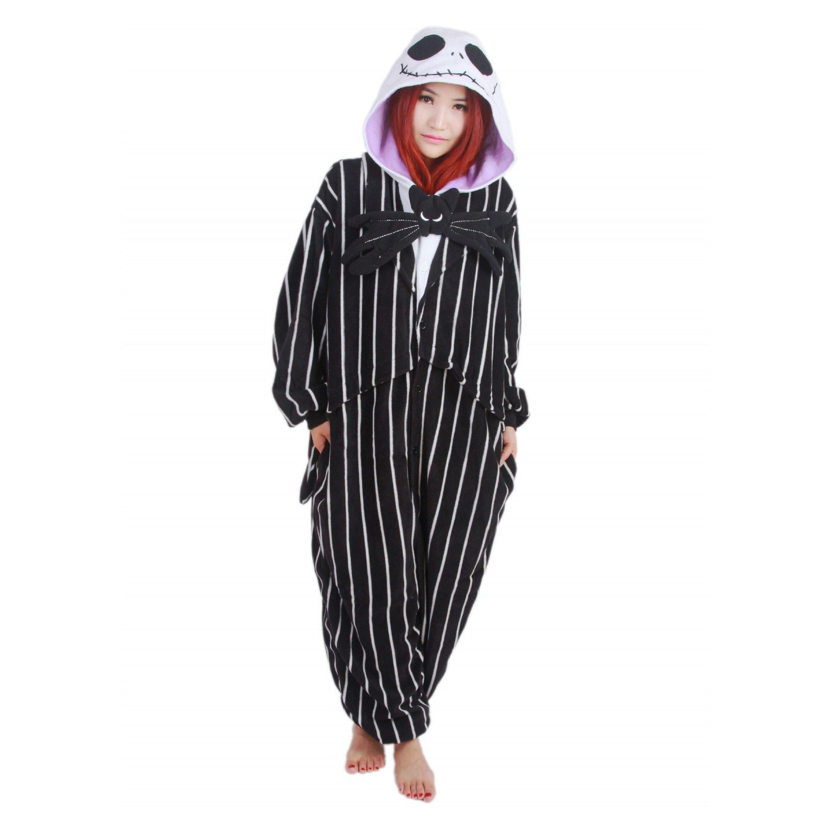 2020 的 Jack Skellington Onesie Unisex Women & Men Kigurumi