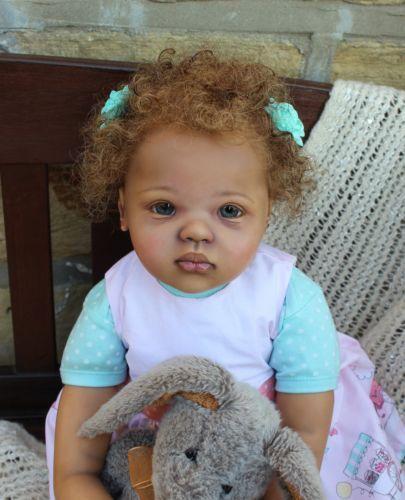 Custom Order For Black Aa Toddler Baby Reborn Girl Ethnic