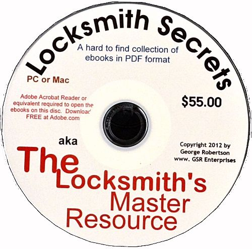 MASTER RESOURCE CD - a collection of pdf e-books.  Check it out at our site because it's now marked down as a promotional item.