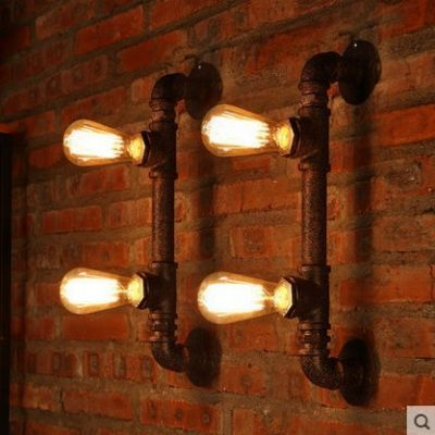 Edison Wall Sconce Industrial Pipe