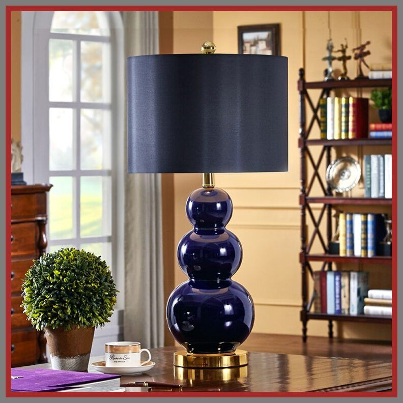 104 Reference Of Bedroom Table Lamps Blue In 2020 Table Lamps For Bedroom Bedroom Lamps Black Bedside Lamps