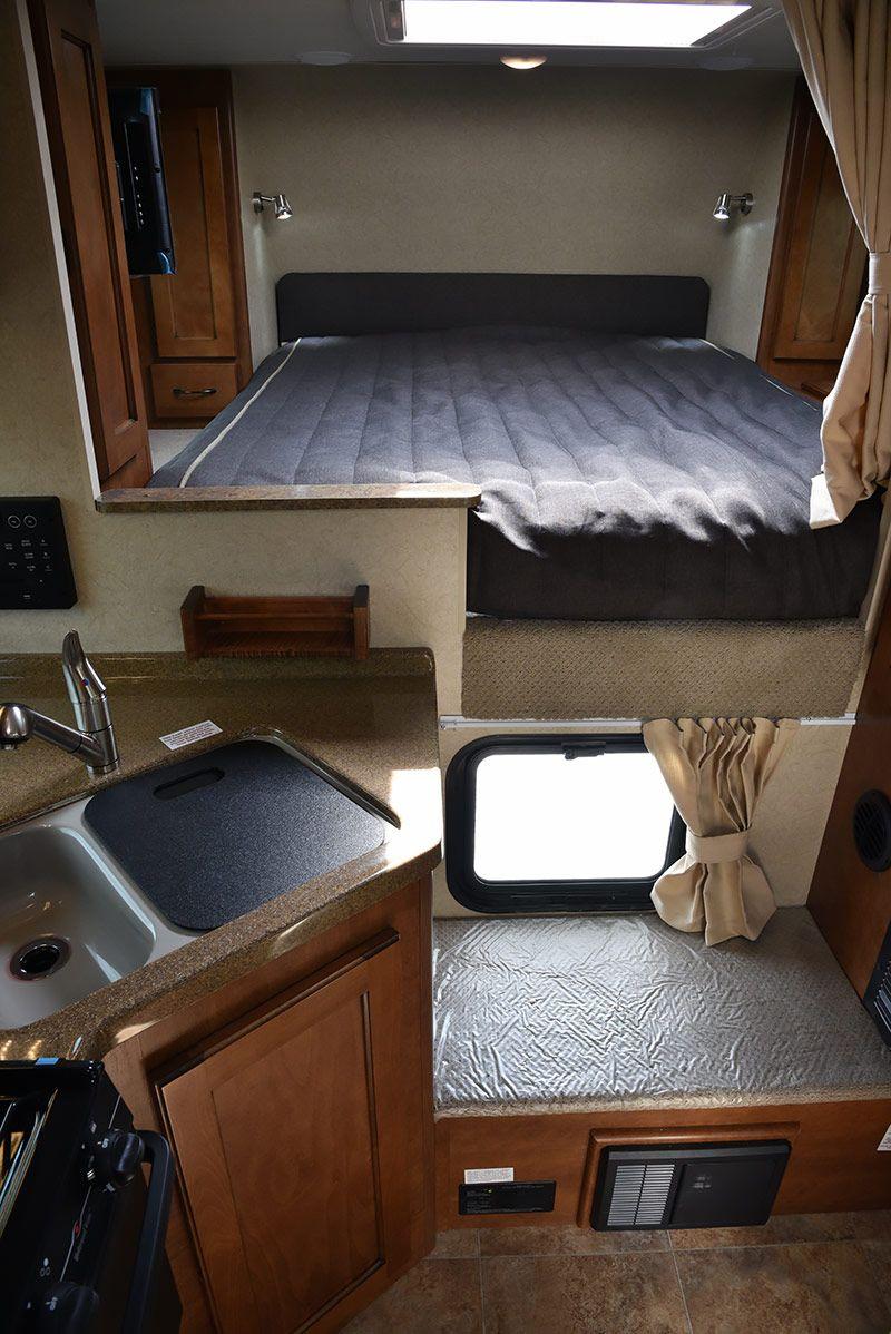 lance 850 truck camper interior lance850 lancecamper truckcamper truckcamperreview truckcampermagazine rv slideincamper [ 800 x 1198 Pixel ]