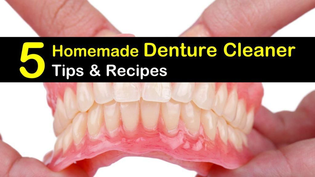 5 Denture Cleaner Recipes You Can Make at Home Denture