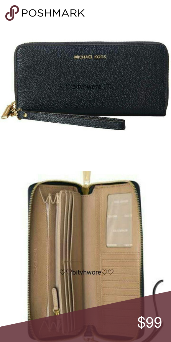 Michael Kors Mercer Admiral Travel Continental Wal Michael