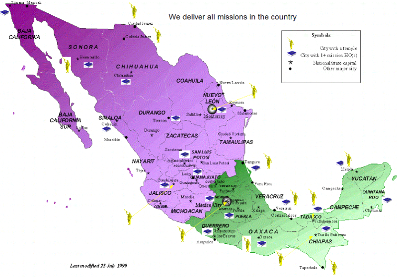 Lds Missions In California Map.We Deliver All Lds Mexico Missions Send A Care Package Mission